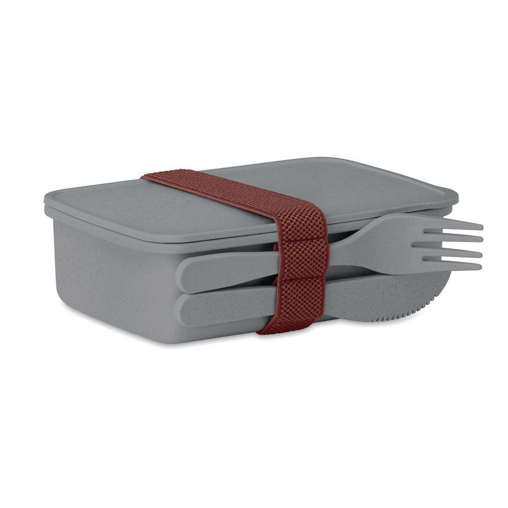 Welcome Office Boîte à repas Lunch box - coloris gris