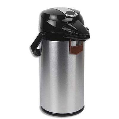 Miko Cafe Pichet isotherme à pompe Airpot - en inox - 1,9 Litres
