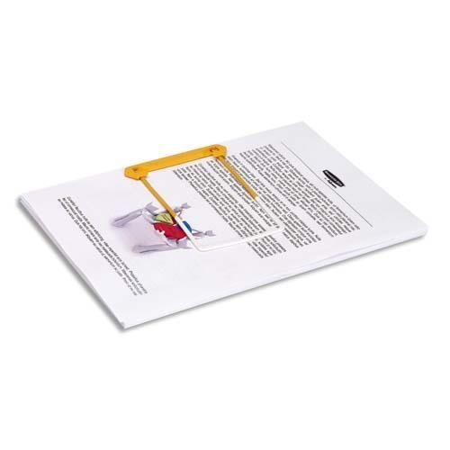 Bankers Box Clip tube jaune 3 pieces Bankers Box - pour archiver et consulter les documents - boîte de 100