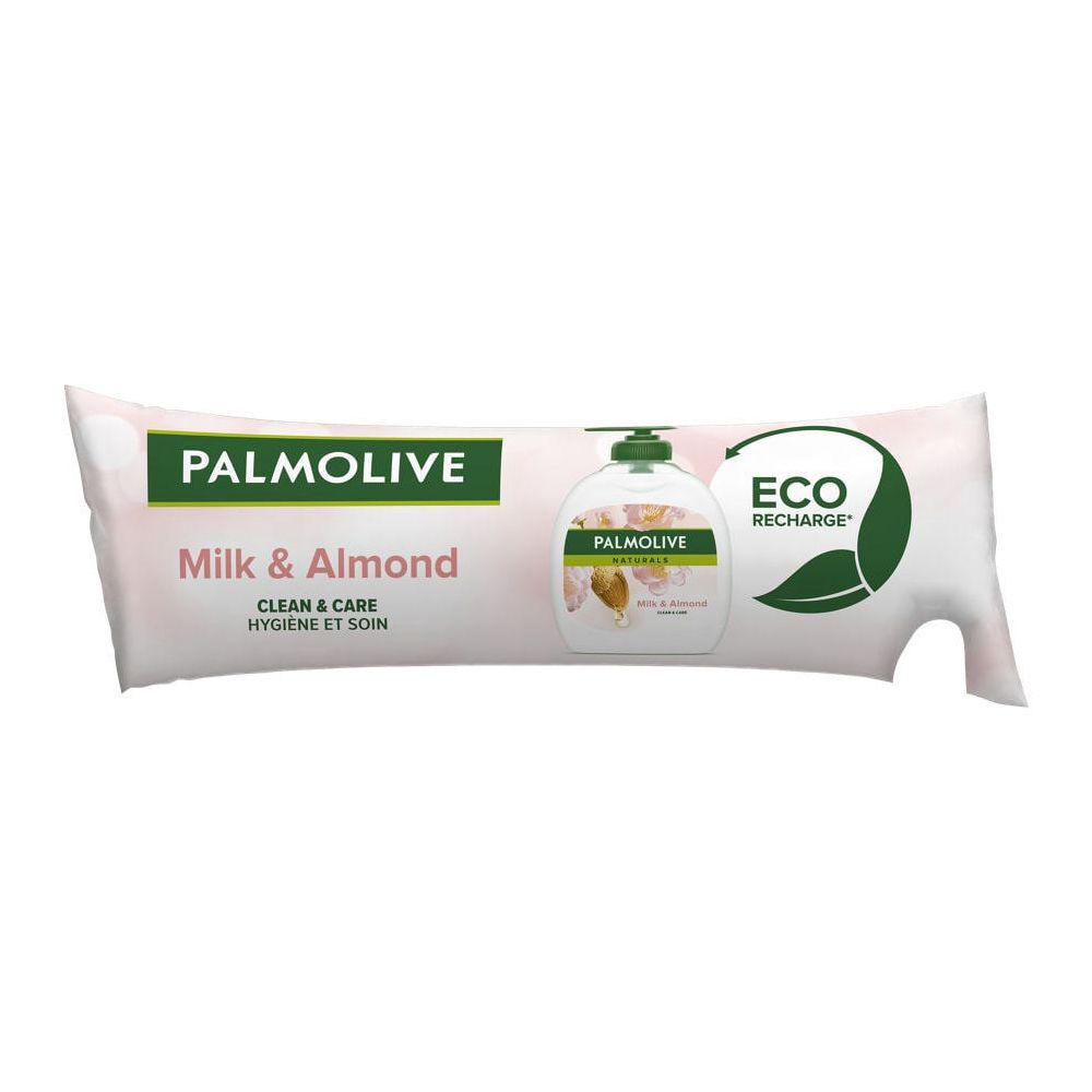 Palmolive Recharge de savon Pouss Mousse - lait d'amandes - 250 ml - Lot de 2