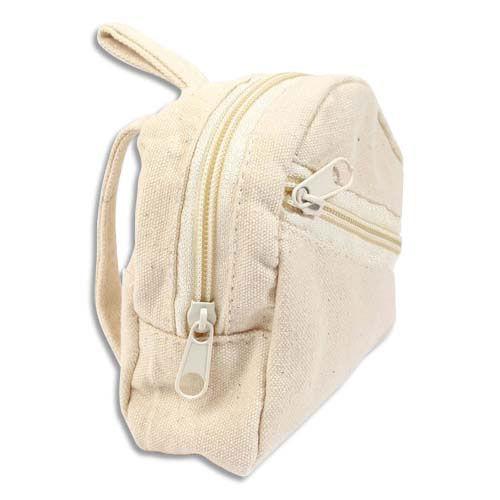 Graine Creative Porte monnaie Graine Créative - tissu - forme sac à dos - 75x90x30 mm - à décorer