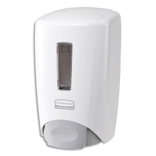 Rubbermaid Distributeur de savon et mousse Flex Rubbermaid - capacité 500 ml - L10 x H22 x P12,7 cm - blanc
