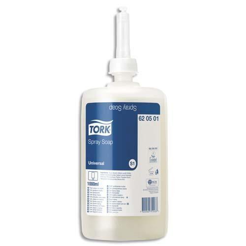 Tork Savon spray universel Tork pour distributeur S1 - lot de 6 recharges 1L