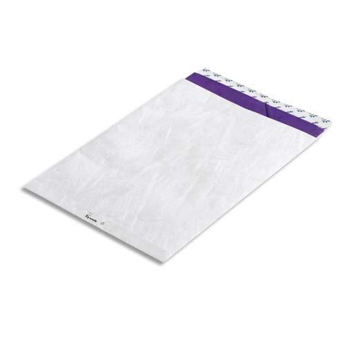 Tyvek Pochettes blanches Bong en Tyvek - 16,2 x 22,9 cm - boîte de 100