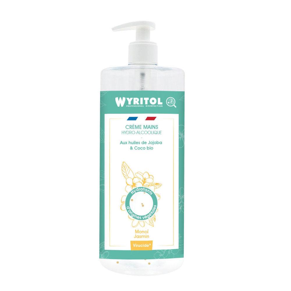 Wyritol Creme mains hydroalcoolique Wyritol - monoi - flacon de 500 ml