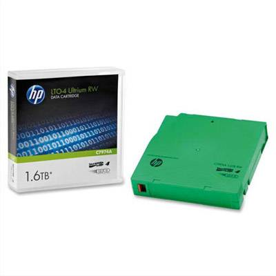 HP Cartouche de sauvegarde HP C7974A - LTO Ultrium 4 - 800 GO à 1,6To