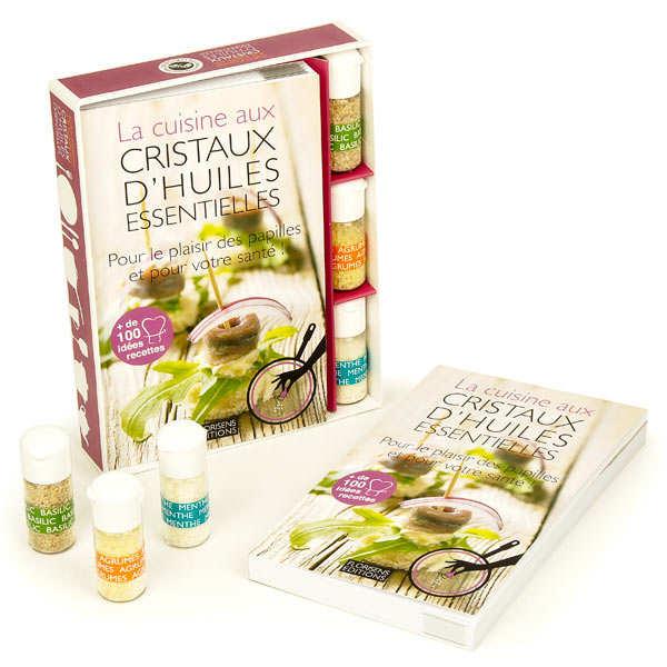 Aromandise Coffret d'initiation à la cuisine aux cristaux d'huiles essentielles - Le coffret