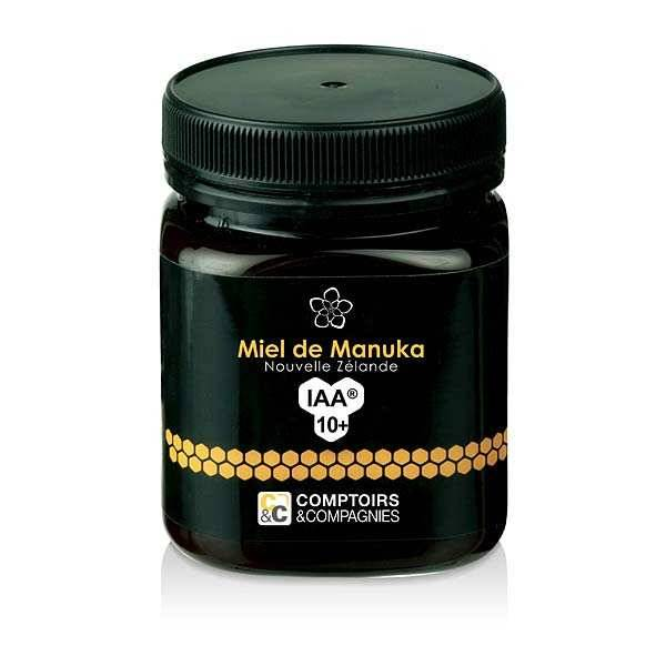 Comptoirs et Compagnies Miel de manuka IAA 10+ - Pot 250g