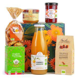 BienManger paniers garnis Coffret Gourmand Bio & Équitable - Le coffret cadeau - Publicité