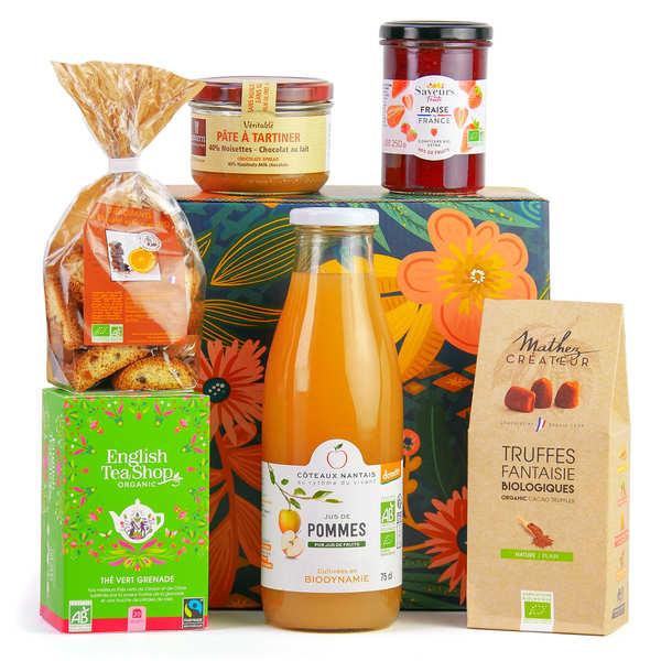 BienManger paniers garnis Coffret Gourmand Bio & Équitable - Le coffret cadeau