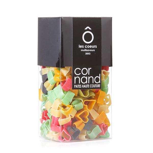 Epicerie Cornand Les pâtes Cornand - coeurs multisaveurs - Coffret cristal 300g