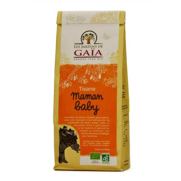 Les Jardins de Gaïa Tisane d'allaitement bio - Maman baby - Lot de 3 sachets 200g