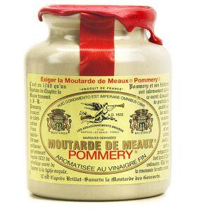Les assaisonnements Briards Moutarde de Meaux Pommery - Pot en grès 250g bouchon liège + cire - Publicité