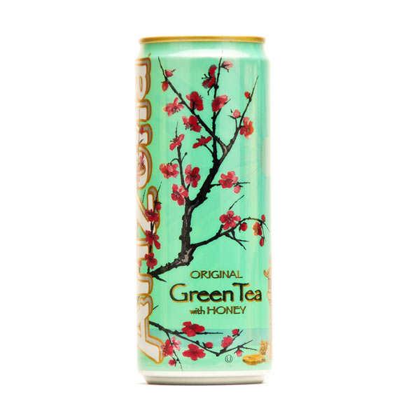 Arizona Iced Tea Arizona au thé vert, ginseng et miel - Canette - lot 6 canettes de 330ml