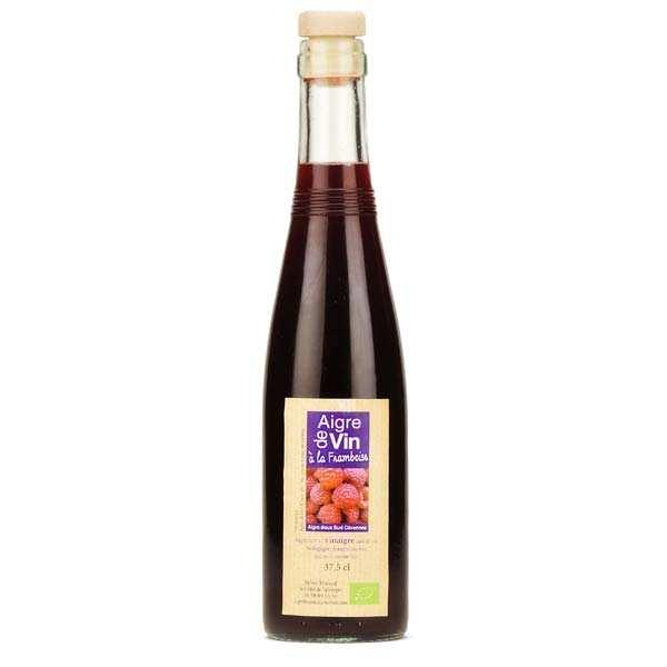 Aigre-doux Sud Cévennes Vinaigre artisanal à la framboise bio sans sulfites - Bouteille 37.5cl