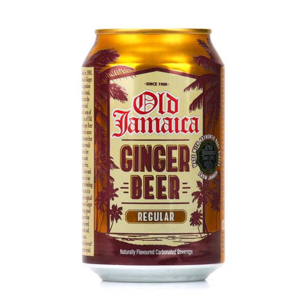 Old Jamaïca Ginger Beer - Old Jamaïca - Soda au gingembre - Lot de 24 canettes