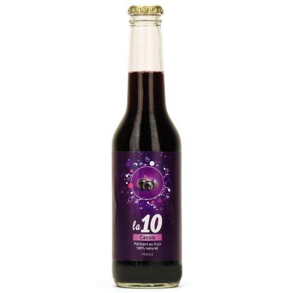Emmanuelle Baillard 10 Cassis - Soda pétillant au cassis de bourgogne - Bouteille 27.5cl