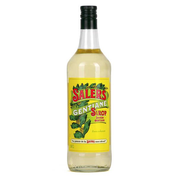 Distillerie de la Salers Sirop de gentiane Salers (sans alcool) - Bouteille 1L
