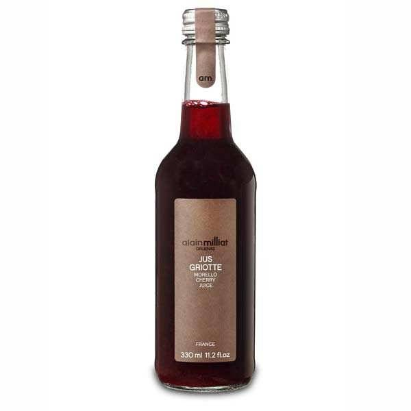 Alain Milliat Jus de cerises griottes de Provence Alain Milliat - 6 bouteilles de 33cl