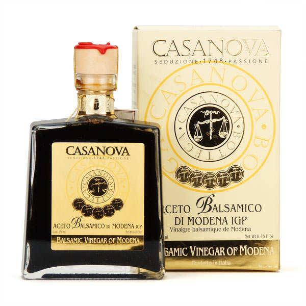 Casanova Vinaigre balsamique de Modène 10 ans - Bouteille 25cl