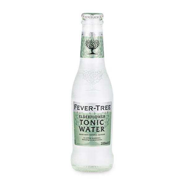Fever Tree elderflower tonic water (fleur de sureau) - Bouteille 20cl