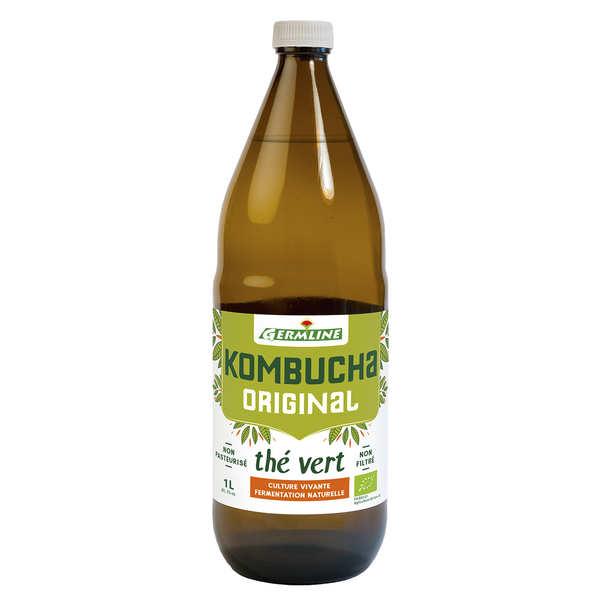 Germline Kombucha, boisson lactofermentée bio - Lot 6 bouteilles 1L