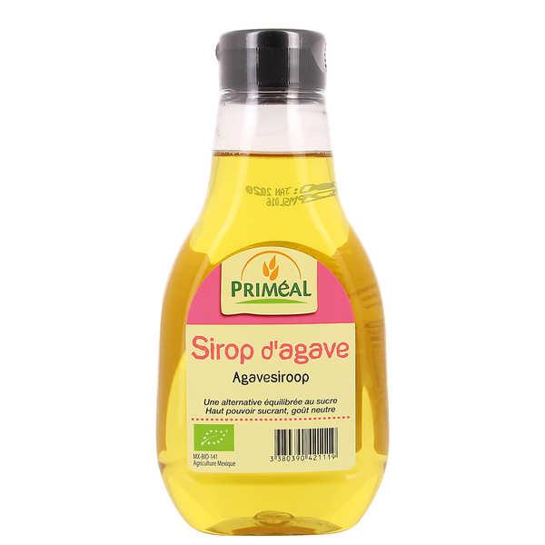 Priméal Sirop d'agave bio en flacon - Lot 3 flacons souples de 330g