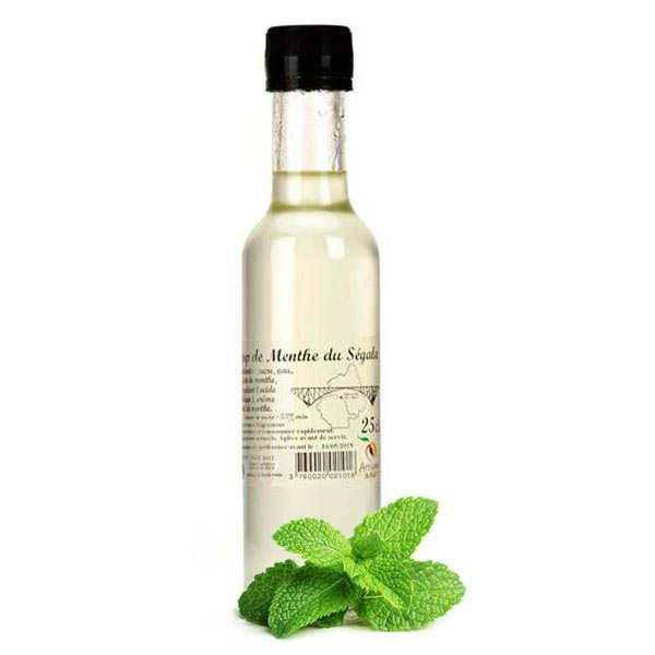 Artisan du fruit Sirop de menthe du Segala - Lot de 3 bouteilles 50cl