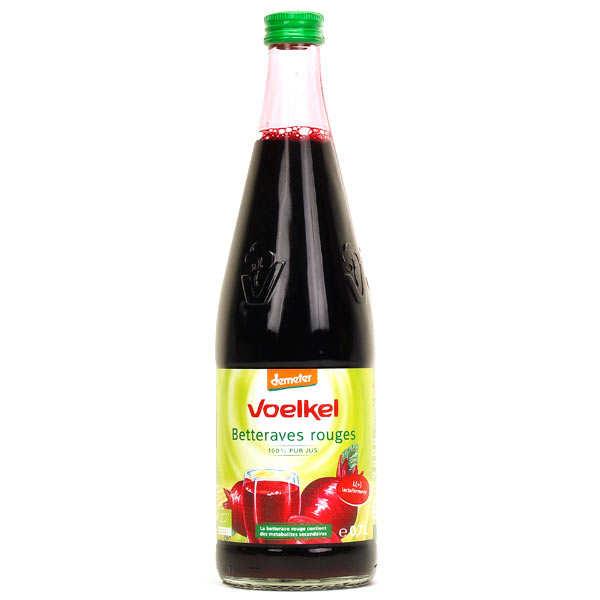 Voelkel GmbH Jus de betterave lacto fermenté bio - 6 bouteilles Elopak 50cl
