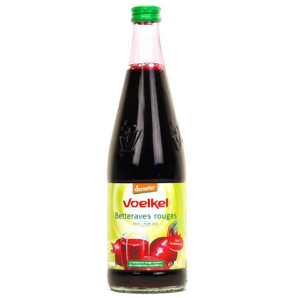 Voelkel GmbH Jus de betterave lacto fermenté bio - 6 bouteilles verre 70cl