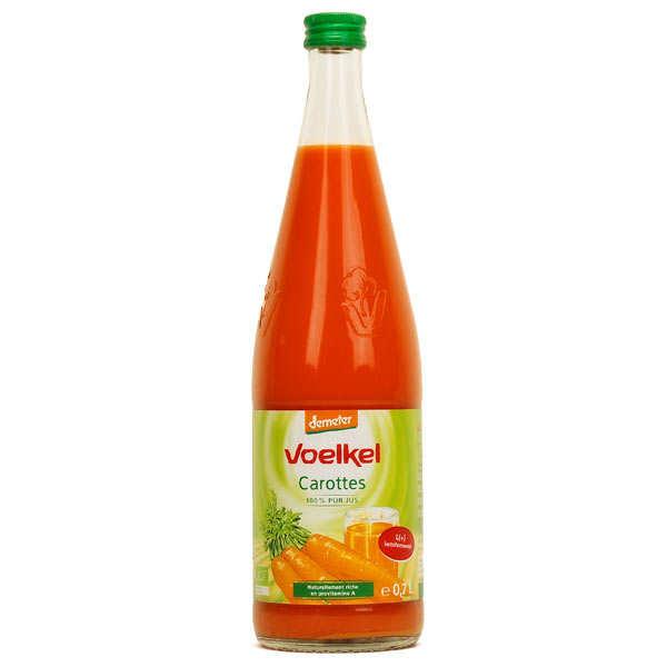 Voelkel GmbH Jus de carotte lacto fermenté bio - 3 bouteilles verre 70cl