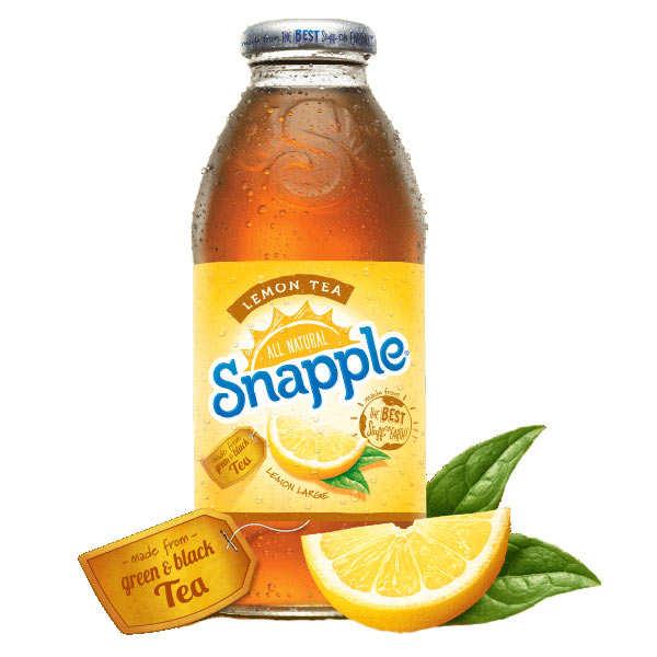 Snapple Thé glacé au citron Snapple - Bouteille 473ml