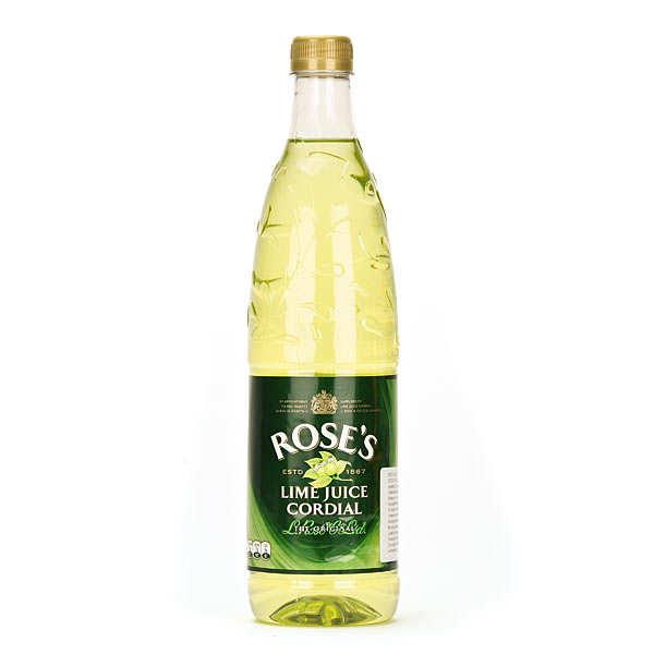 Rose's Lime Juice Cordial - Boisson au citron vert - Bouteille 1L