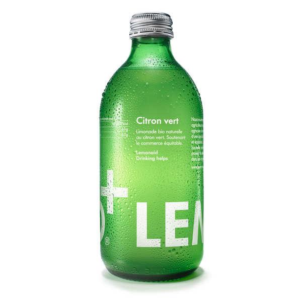 Lemonaid Limonade au citron vert bio et équitable - Lemonaid - Bouteille verre 33cl