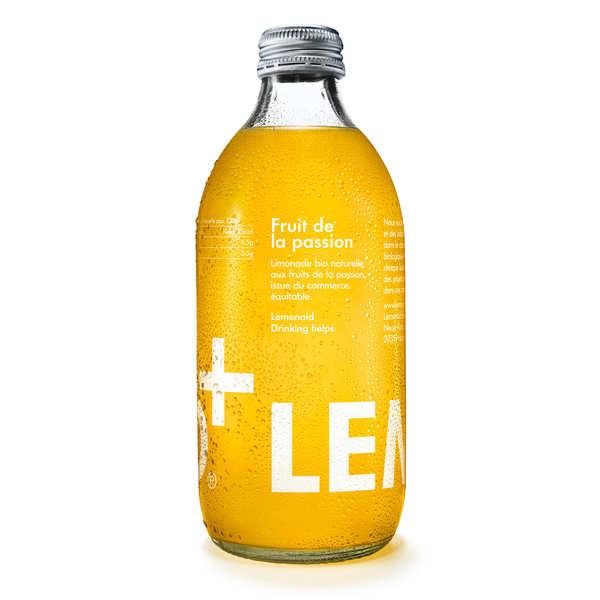 Lemonaid Limonade aux fruits de la passion bio et équitable - Lemonaid - Bouteille verre 33cl