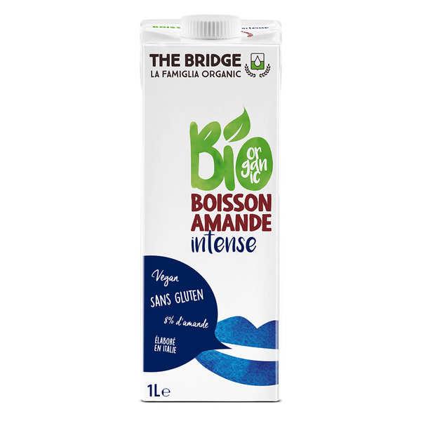 The Bridge Bio Lait d'amande bio et sans gluten - 12 briques 1L