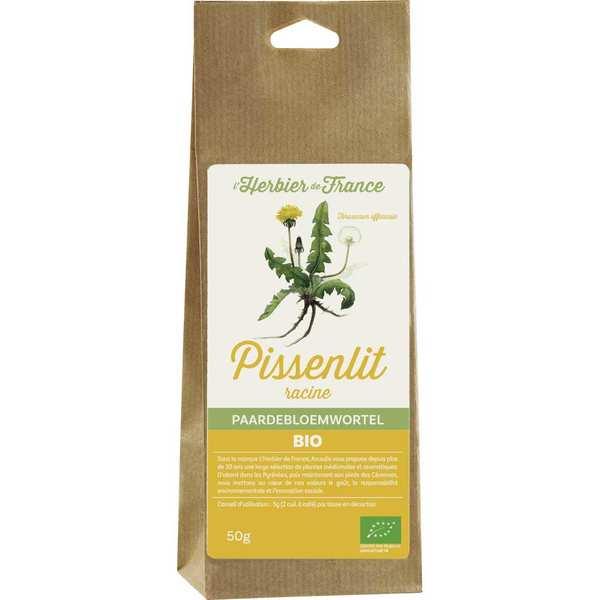 Cook - Herbier de France Infusion de racine de pissenlit bio - 6 sachets de 50g