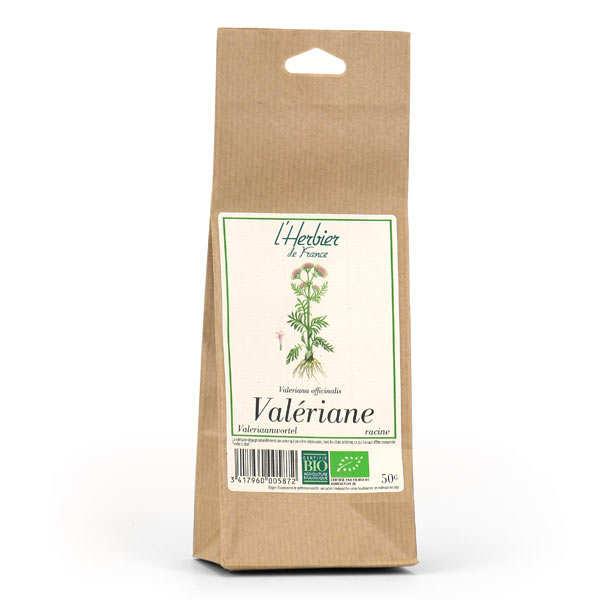 Cook - Herbier de France Infusion de racine de valériane bio - Sachet 50g