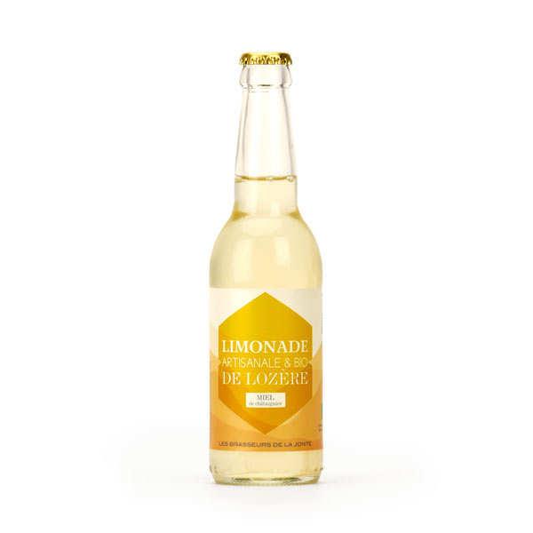 Les brasseurs de la Jonte Limonade artisanale de Lozère au miel de châtaignier bio - 3 bouteilles de 33cl