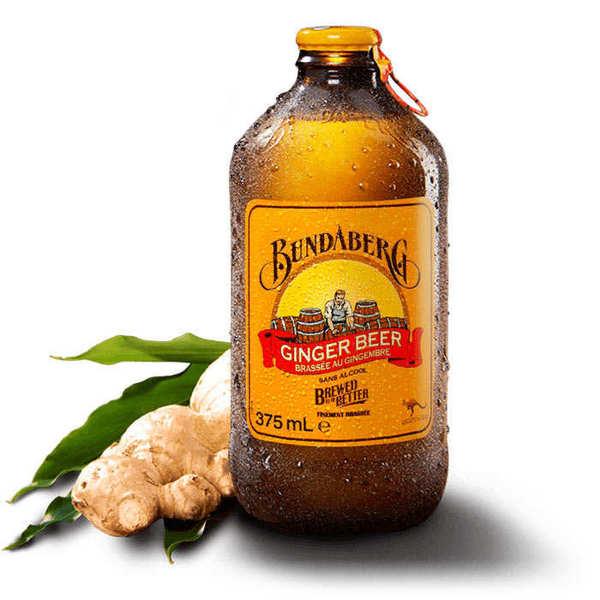 Bundaberg Ginger Beer sans alcool - Lot 12 bouteilles 37.5cl