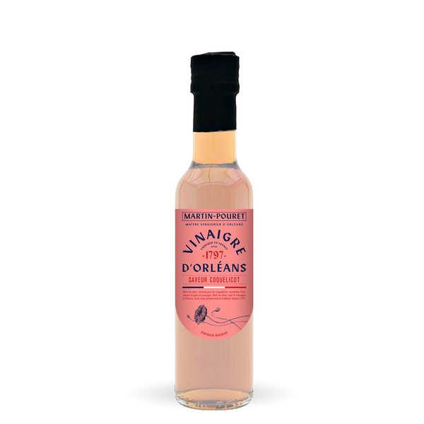 Martin Pouret Vinaigre d'Orléans de vin blanc saveur coquelicot - M. Pouret - Bouteille 25cl