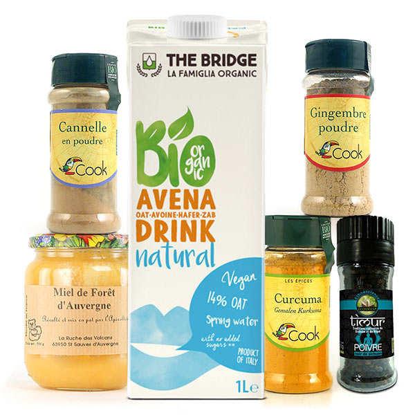 BienManger.com Kit de préparation du lait d'or - Kit lait d'or