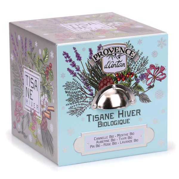 Provence d'Antan Tisane Hiver bio - Boite métal 24 sachets nylon