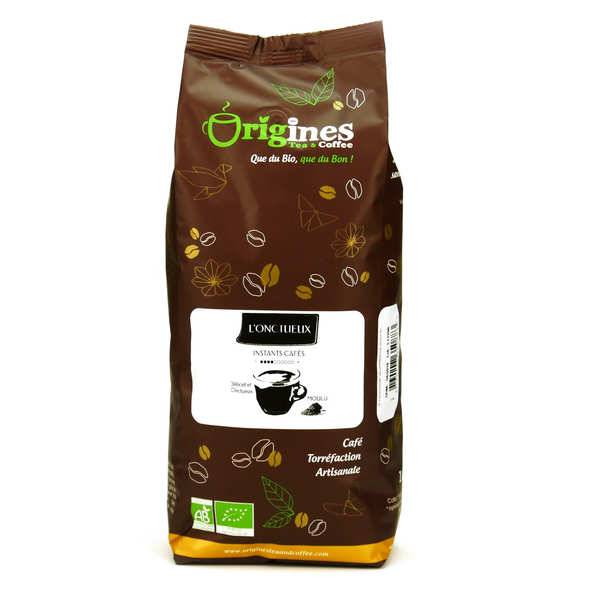Origines Tea and Coffee Café bio - L'Onctueux - Sachet 1kg - café en grains