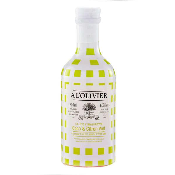 A L'Olivier Sauce vinaigrette coco citron vert - Bouteille 200ml