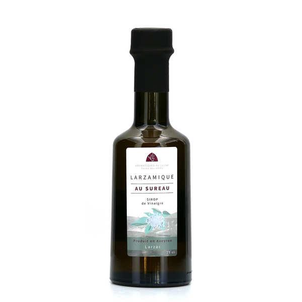 Aromatiques du Larzac - Ferme des Homs Vinaigre larzamique à la fleur de sureau - Lot de 3 bouteilles 25cl