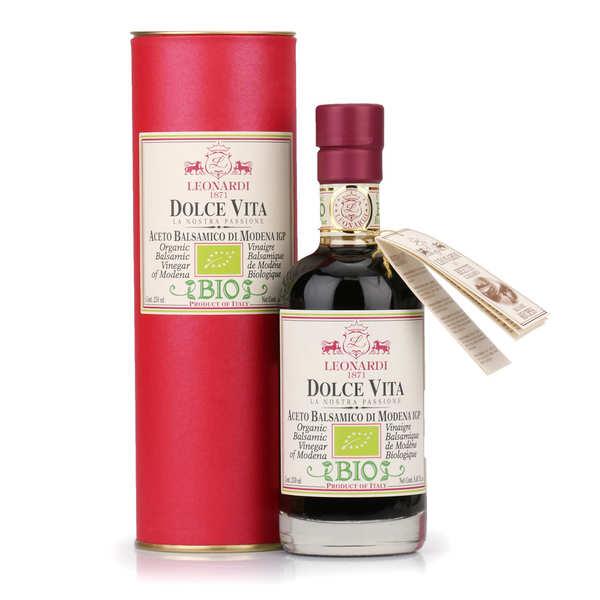 Vinaigrerie Leonardi Vinaigre balsamique de Modène IGP 'Dolce Vita'  bio - Bouteille 500ml