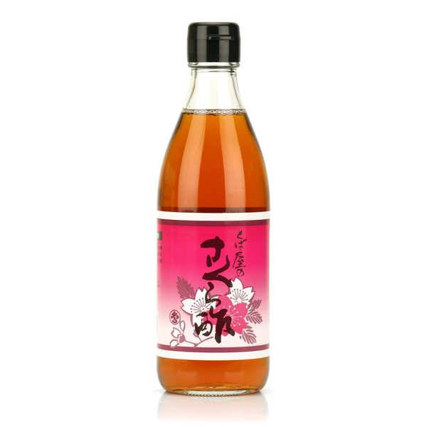 Nishikidôri Condiment vinaigre de riz et fleur de cerisier Sakura - Bouteille 360ml