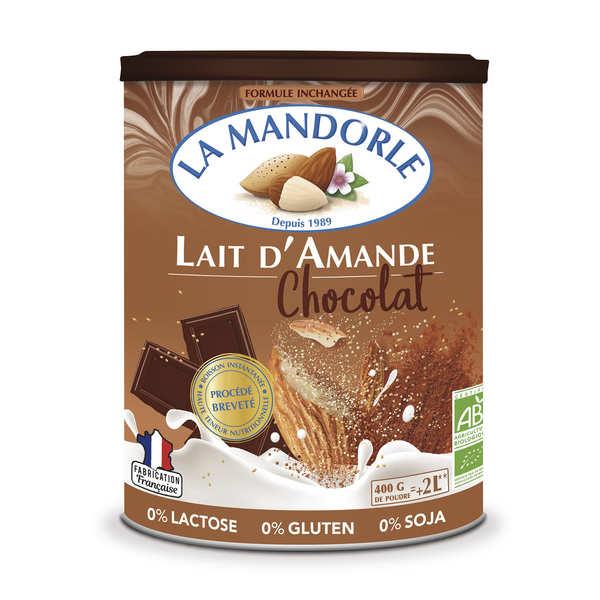 La Mandorle Lait d'amande au chocolat en poudre bio - Boîte 400g