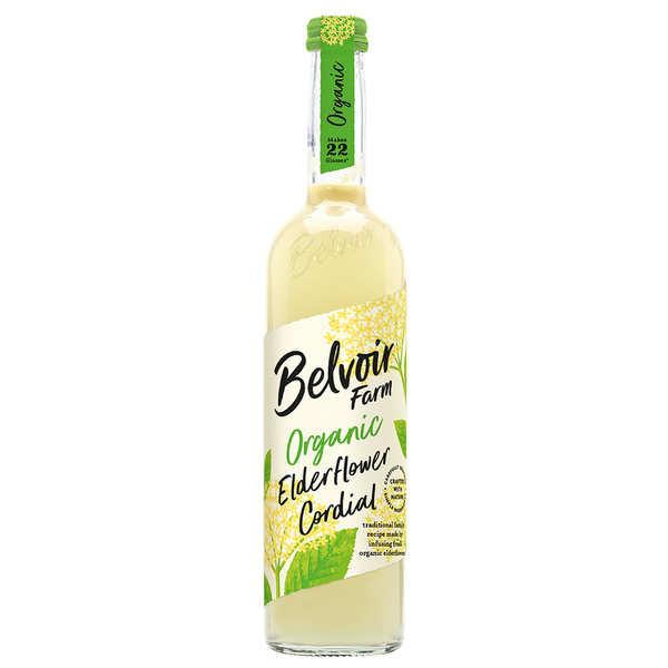 Belvoir Sirop artisanal bio à la fleur de sureau - Lot de 6 bouteilles de 50cl